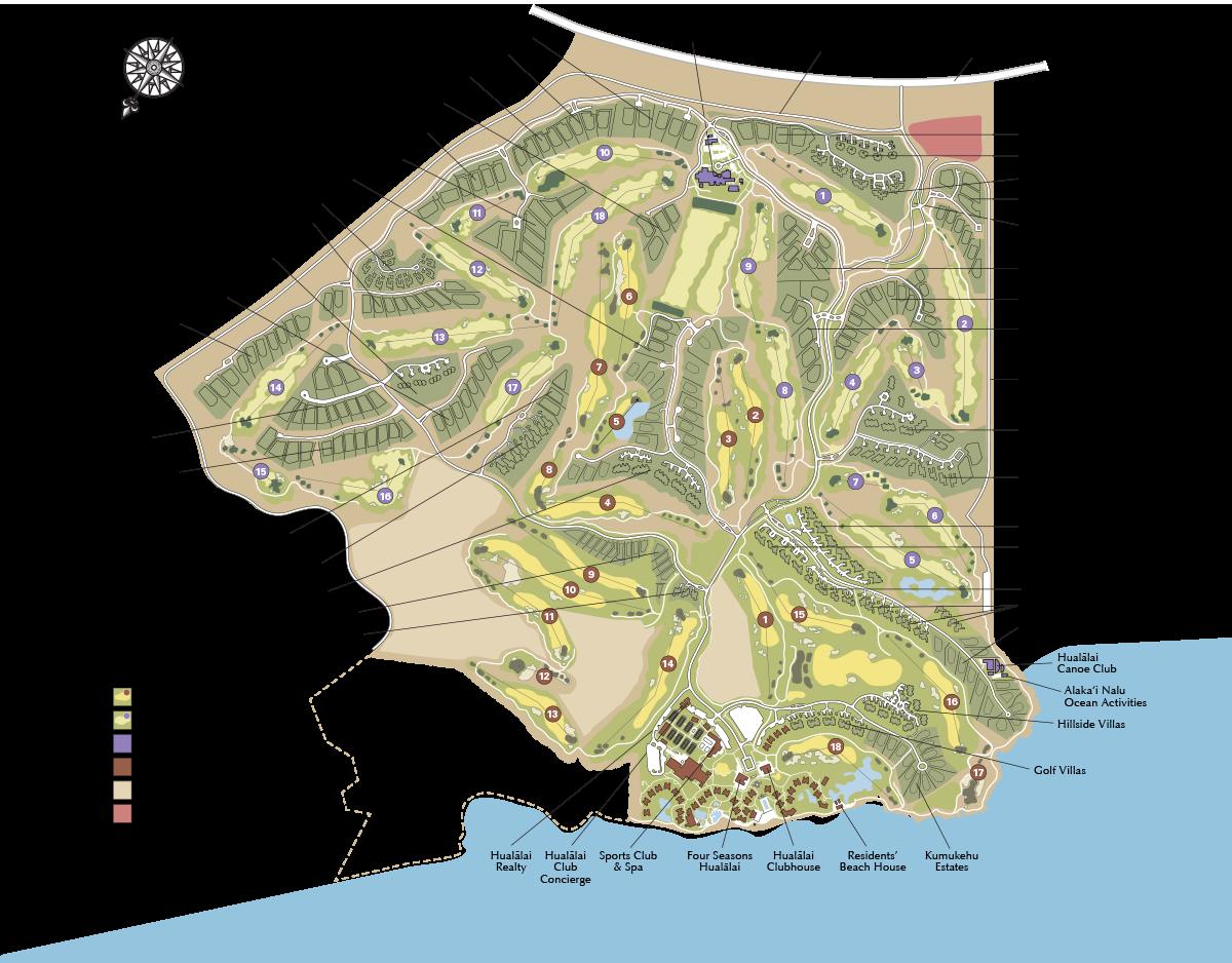 hualalai-resort-map